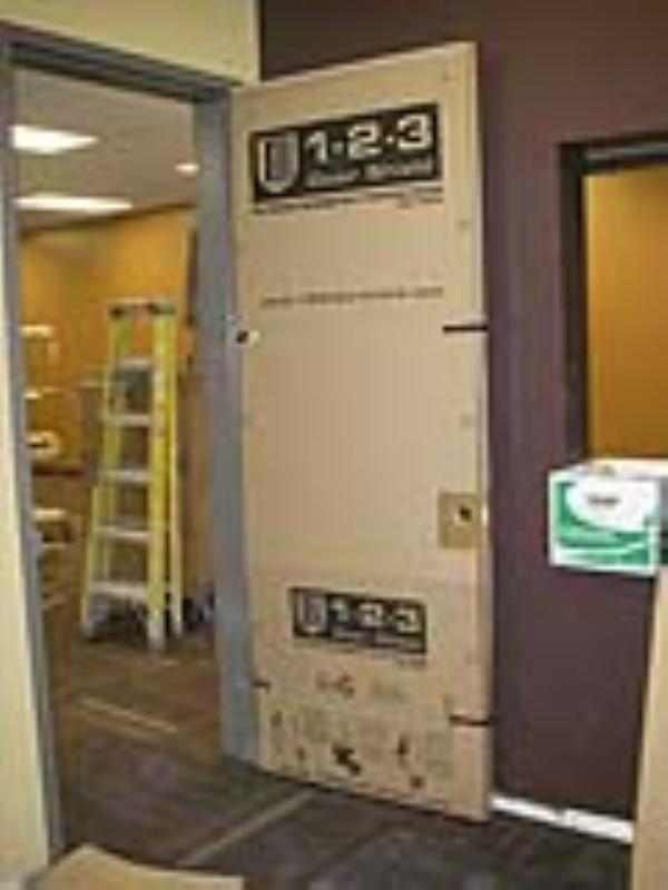 (click image to enlarge) & 1-2-3 Door Shield Door Protection System | CSI - Contractors Supply Inc